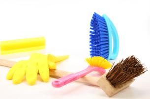 掃除道具の写真素材 [FYI00034043]