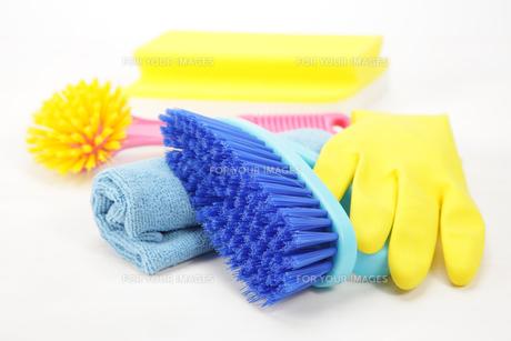 掃除道具の写真素材 [FYI00034051]