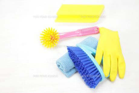 掃除道具の写真素材 [FYI00034054]