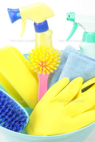 掃除道具の写真素材 [FYI00034055]