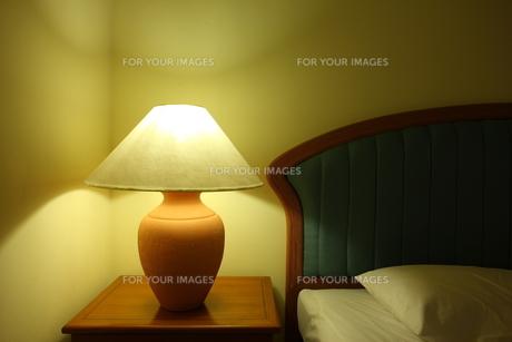 ベッドルームの写真素材 [FYI00034066]