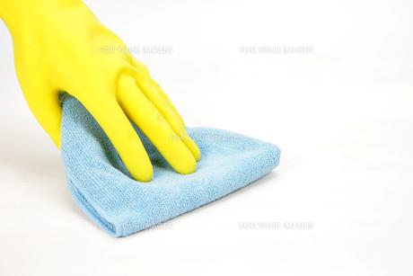 床掃除の写真素材 [FYI00034068]