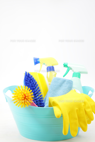掃除道具の写真素材 [FYI00034075]