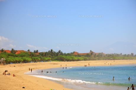 ヌサドゥアビーチの写真素材 [FYI00034097]