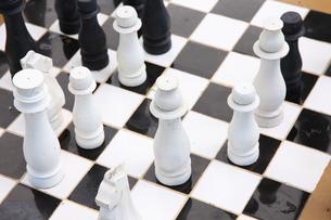 チェスの写真素材 [FYI00034109]