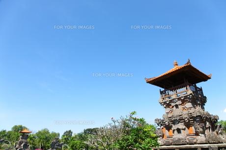 タマンアユン寺院の写真素材 [FYI00034121]