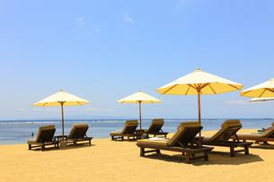 サヌールビーチの写真素材 [FYI00034134]