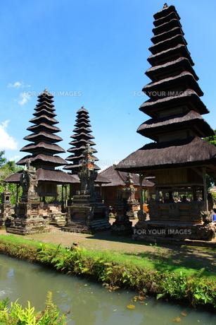 タマンアユン寺院の写真素材 [FYI00034135]