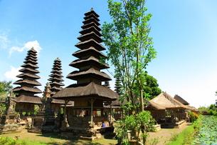 タマンアユン寺院の写真素材 [FYI00034136]