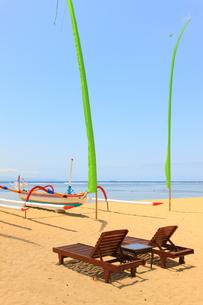 サヌールビーチの写真素材 [FYI00034137]