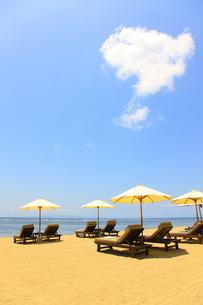 サヌールビーチの写真素材 [FYI00034143]