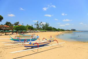 サヌールビーチの写真素材 [FYI00034144]