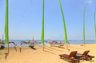 サヌールビーチの写真素材 [FYI00034176]