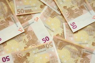50ユーロ紙幣の写真素材 [FYI00034247]
