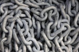 鎖の写真素材 [FYI00034335]