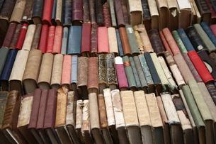 古い本の写真素材 [FYI00034347]