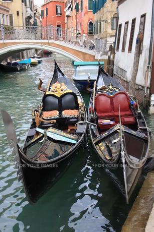 ヴェネツィアのゴンドラの写真素材 [FYI00034556]