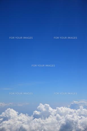 青空と雲の素材 [FYI00034598]