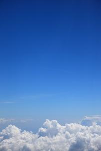 青空と雲の写真素材 [FYI00034598]