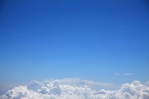 青空と雲の写真素材 [FYI00034606]