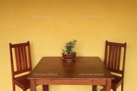 テーブルセットの写真素材 [FYI00034628]