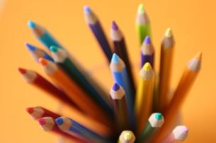 色鉛筆の写真素材 [FYI00034676]