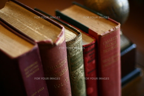 古い本の写真素材 [FYI00034698]