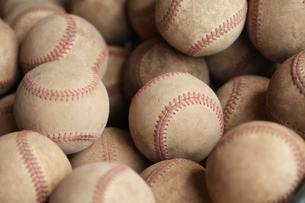 野球ボールの写真素材 [FYI00034712]