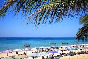 カタヤイビーチの写真素材 [FYI00034775]