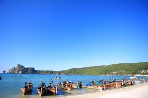 ピピ島ローダラムビーチの写真素材 [FYI00034776]