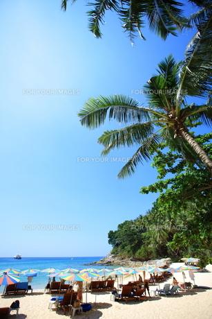 プーケット島スリンビーチの写真素材 [FYI00034779]