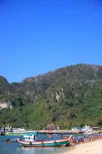ピピ島トンサイ湾の写真素材 [FYI00034792]