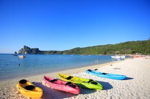 ピピ島ローダラムビーチの写真素材 [FYI00034815]