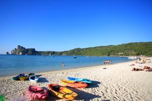 ピピ島ローダラムビーチの写真素材 [FYI00034816]
