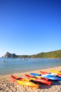 ピピ島ローダラムビーチの写真素材 [FYI00034819]