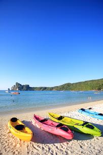 ピピ島ローダラムビーチの写真素材 [FYI00034825]