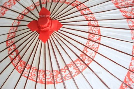和傘の写真素材 [FYI00034847]