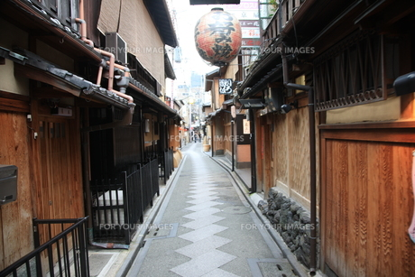 先斗町の写真素材 [FYI00034853]