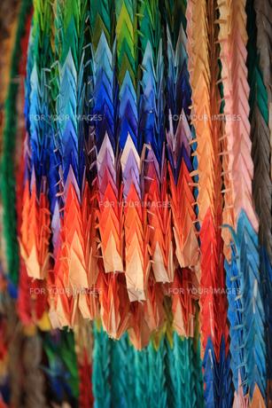 折り鶴の写真素材 [FYI00034868]