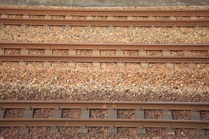 線路の写真素材 [FYI00034888]