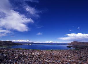 世界遺産ティティカカ湖の写真素材 [FYI00034913]