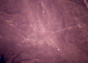 ナスカの地上絵の写真素材 [FYI00034924]