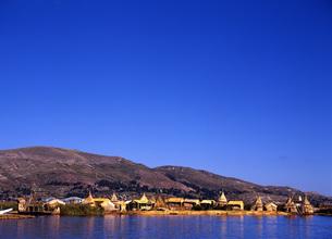 世界遺産ティティカカ湖の写真素材 [FYI00034926]