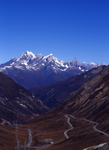 巴朗山峠の写真素材 [FYI00034966]