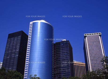 マンハッタンのビル群の写真素材 [FYI00035072]