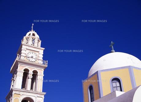イアの教会の写真素材 [FYI00035162]