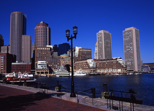 ボストン港の写真素材 [FYI00035174]