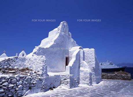 パラポルティヤニ教会の写真素材 [FYI00035177]