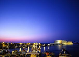 イラクリオの港の写真素材 [FYI00035192]