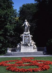 モーツァルト像の写真素材 [FYI00035227]